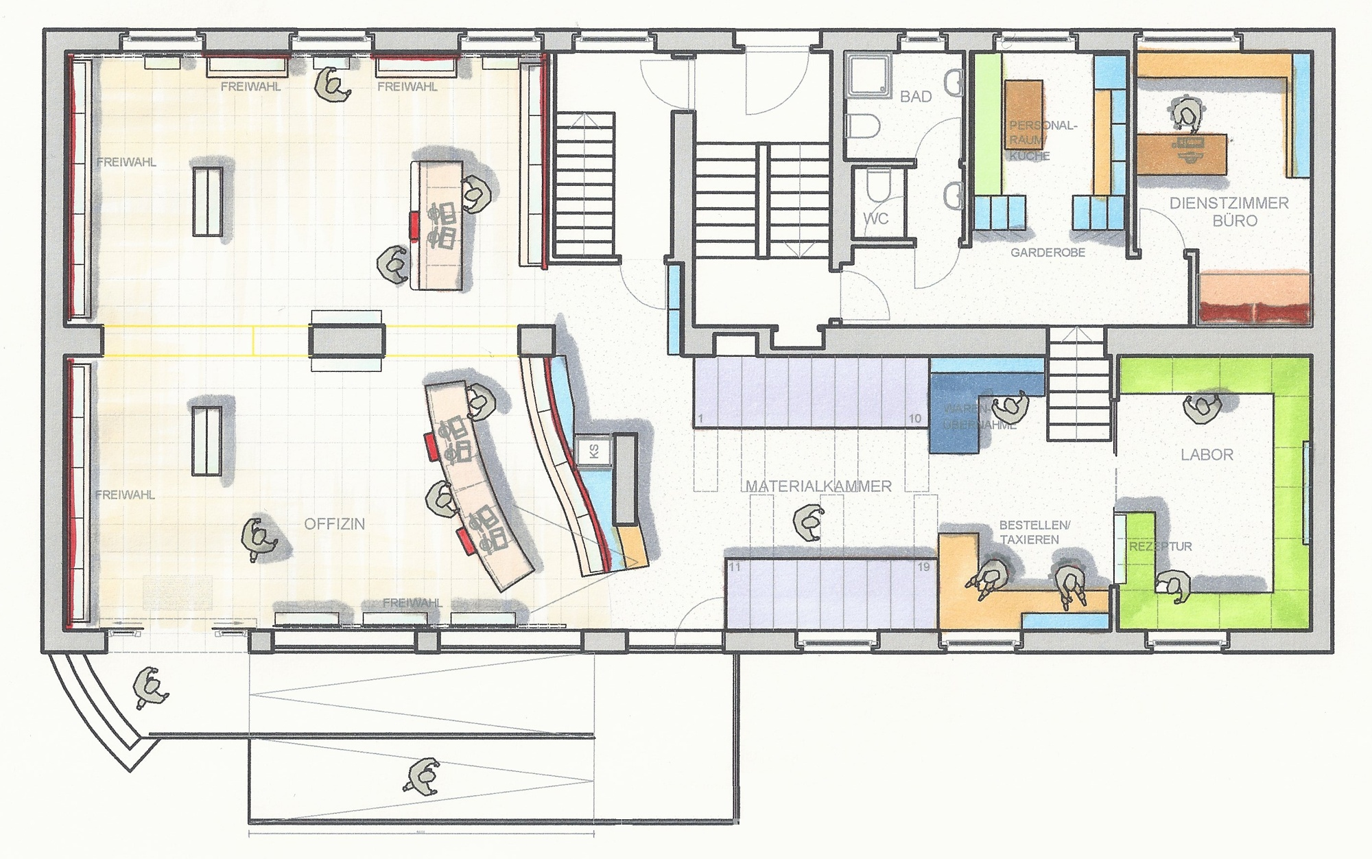 Planungsphase Ii Visualisierung Klinger Apothenkenbau